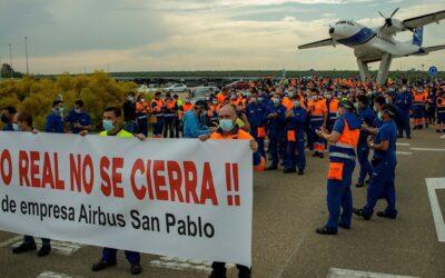 Airbus busca soluciones para los 400 trabajadores de Puerto Real porque su 'situación es crítica'