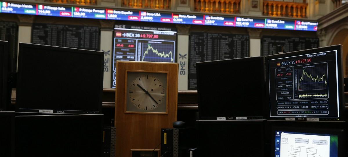 Corredor de Bolsa en Wall Street, Nueva York. EFE/ Justin Lane